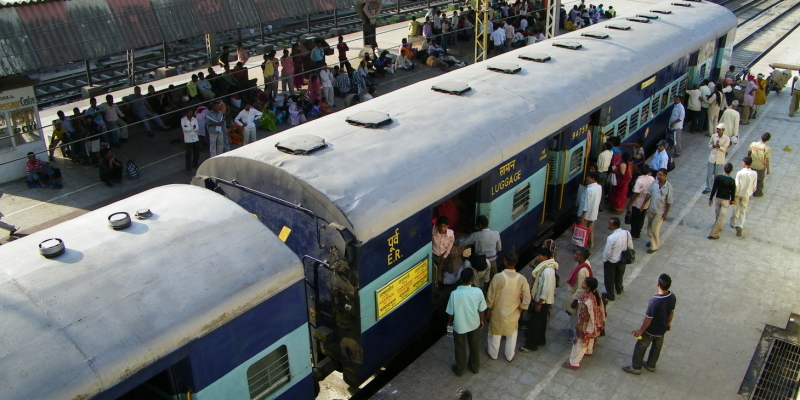 Indický vlak